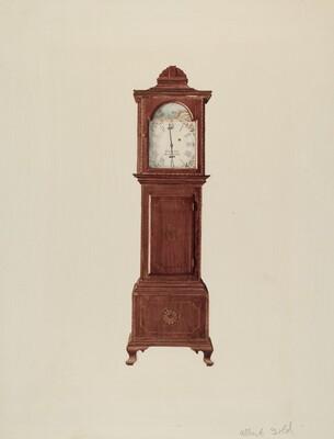 Hall Clock (Miniature)