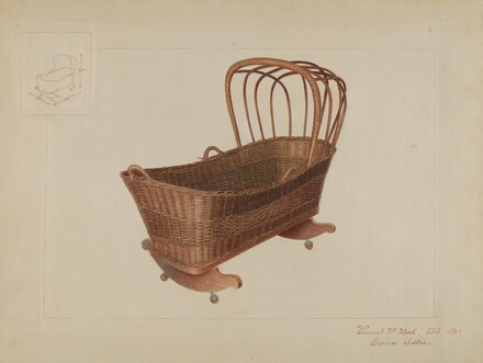 Wicker Cradle