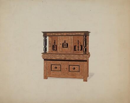 Guilford Press Cupboard