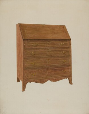 Desk-White Oak