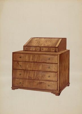 Scrutoir or Butler's Desk