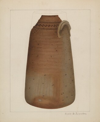 Stoneware Churn