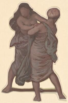 Standing Figures I (study for Greek Girls Bathing)