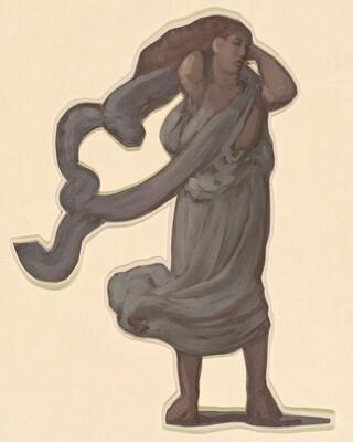 Standing Figure II (study for Greek Girls Bathing)