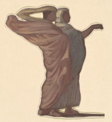 Standing Figures II (study for Greek Girls Bathing)