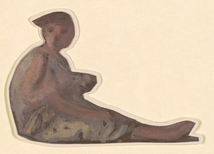 Seated Figure II (study for Greek Girls Bathing)