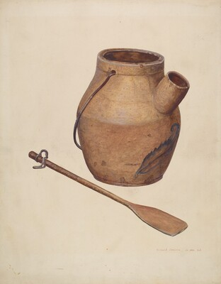 Batter Jug with Paddle