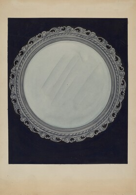 Picture Frame-Carved Wood