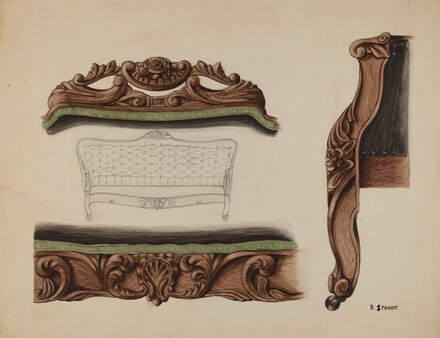 Carvings of a Sofa