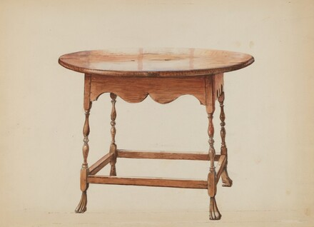 Table, Round Top