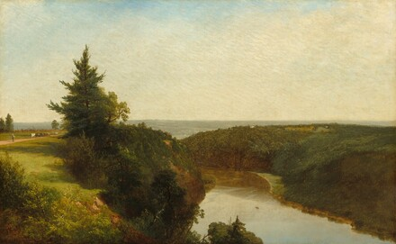 View on the Genesee near Mount Morris