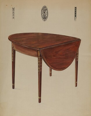 Pembroke Table (Drop Leaf)