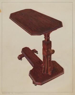Invalid Bedside Table
