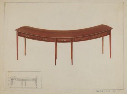 Circular Desk