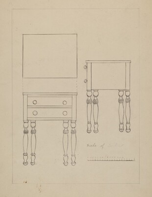 Two Drawer Stand
