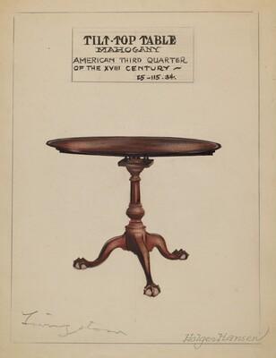 Tilt-top Table