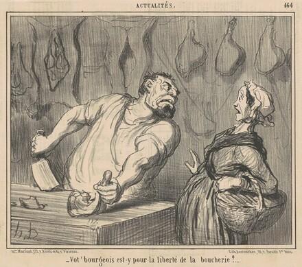 Vot' Bourgeois est-y pour liberté de la boucherie?