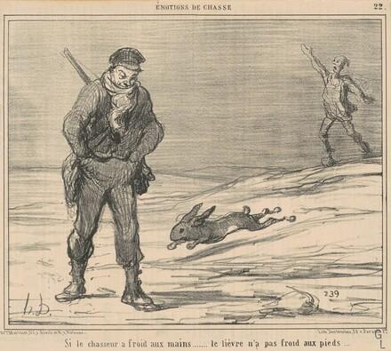 Si le chasseur a froiD ... le lièvre n'a pas froid ...