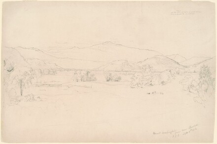 Mount Washington from Near Bartletts, study for View of Mt. Washington