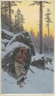 The Indian Bear Hunter