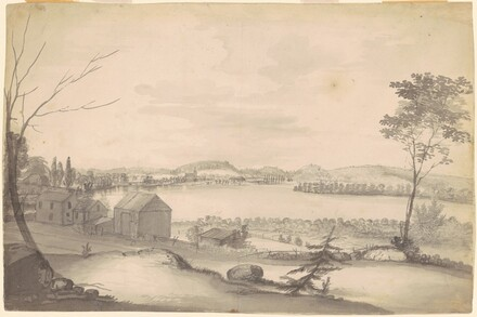 Landscape (study for View of Springfield on the Connecticut River)