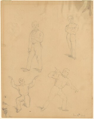 Four Studies of Men