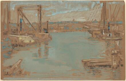 North River Dock, New York