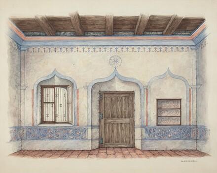 Wall Painting (Door)