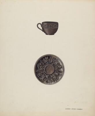 Small Cup and Saucer