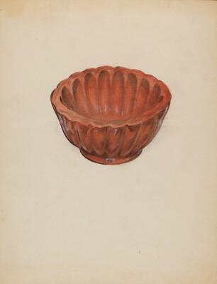 Earthenware, Jelly Mold