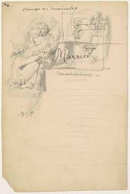 Marbles, for the 1892 Corcoran Gallery General Catalogue