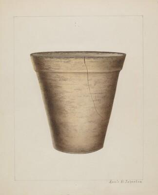 Pottery Flower Pot