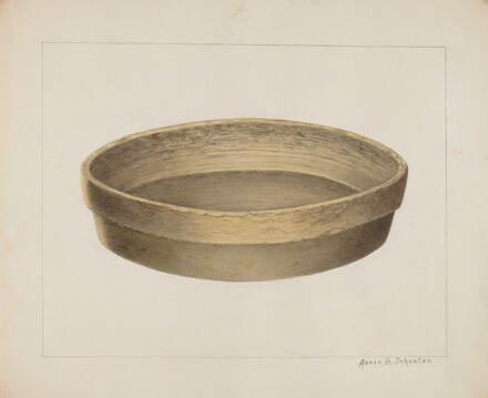 Pottery Flat Bowl