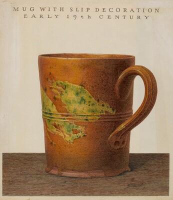Mug with Slip Decoration