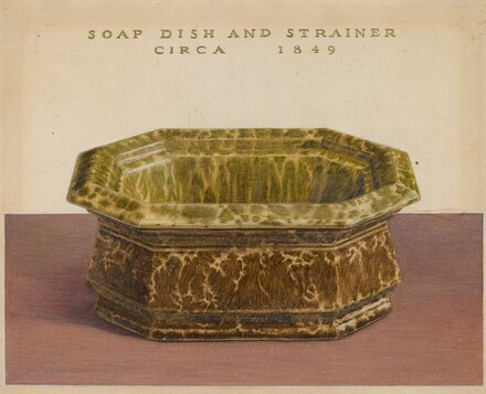 Soap Dish and Strainer