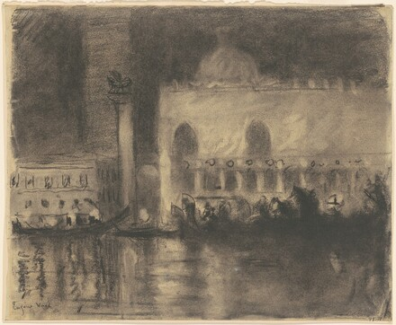 Memory of Venice, The Palazzo Ducale and the Piazzetta