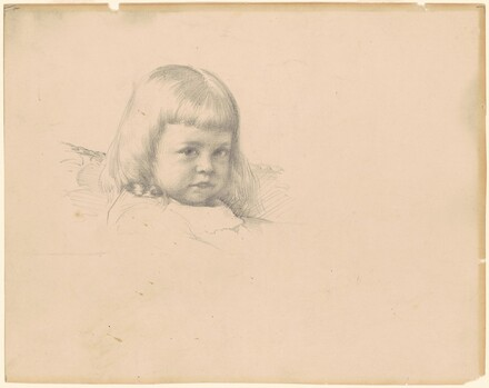 Head of a Little Girl (study for Portrait of Esther Haydin)