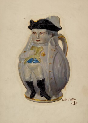 Napoleon Toby Jug
