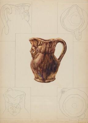 Toby Pottery Jug