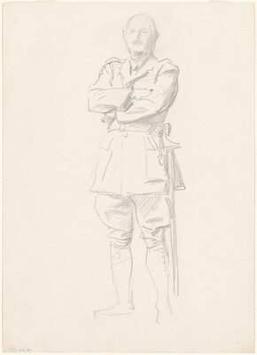 Study for General Officers of World War I (General Louis Botha)