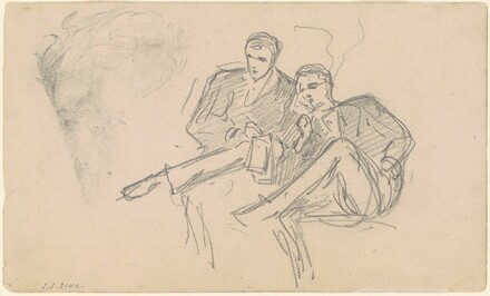 Two Men Seated