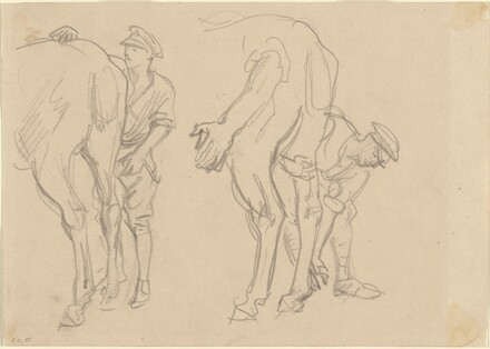 Studies for Scots Greys