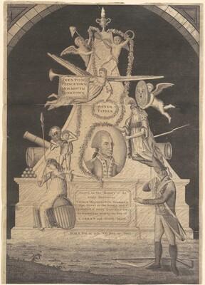 Sacred to the Memory of the Illustrious George Washington