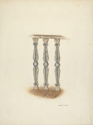 Railing, Detail of