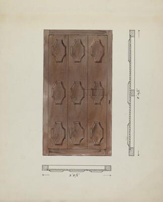 Sacristy Door