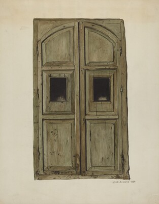 Doors to Confessional