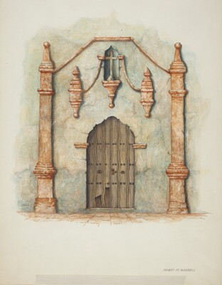 Mission Church Doorway