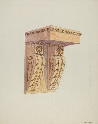 Architectural Detail (Wall Bracket)