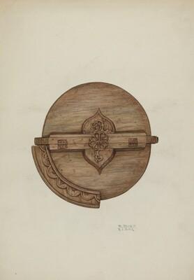 Baptismal Font, Cover