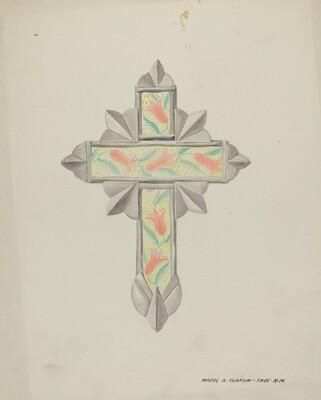 Tin & Wall Paper Cross